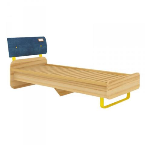 Dětská postel Jeans 80x190 - santana / žlutý