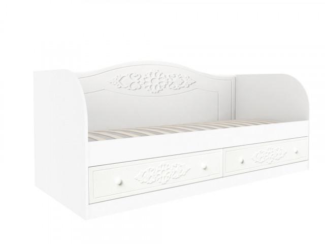 Dětská postel Ariel - bíla White schagreen
