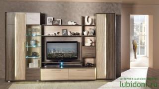 TV komoda (obývací pokoje) - sonoma světlý/tmavý