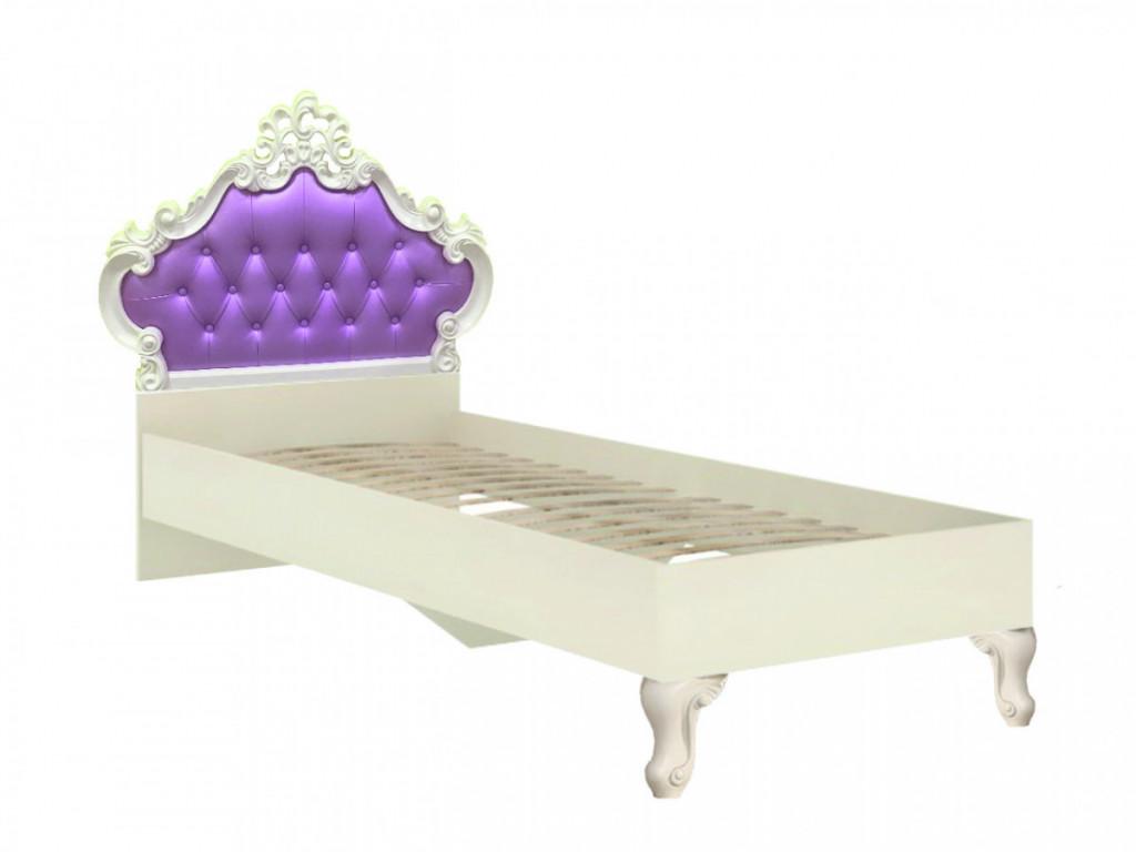 Dětská postel Markýza 90x200 - alabastr - II. jakost