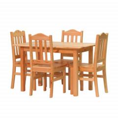 Ilustrační foto - Jídelní stůl Pino + Židle Pino II
