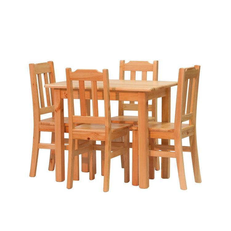 Jídelní set židle Pino I + stůl Pino 90x60 cm