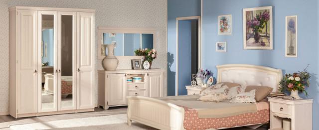 noční stolek Amelie 2 šuplíky - bílá provence č.4