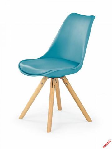 Jídelní židle K201 - tyrkysová