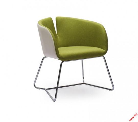 Konferenční židle Pivot zelené