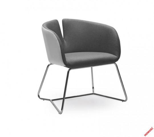 Konferenční židle Pivot šedé
