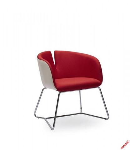 Konferenční židle Pivot červené