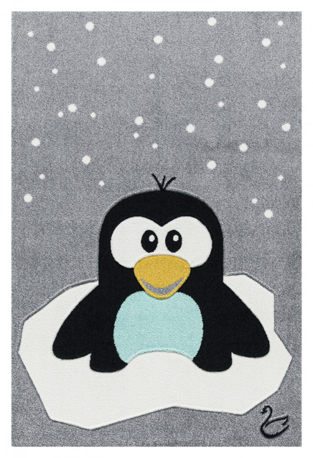 Forclaire Dětský koberec Tučňák