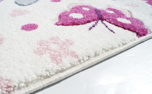 Dětský koberec MOTÝLCI