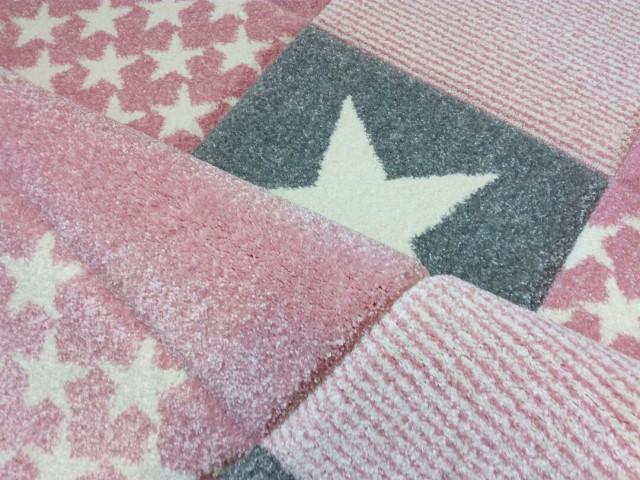 Dětský koberc STARWALK růžový
