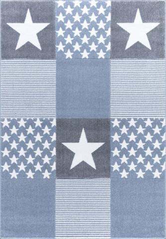 Dětský koberc STARWALK modrý