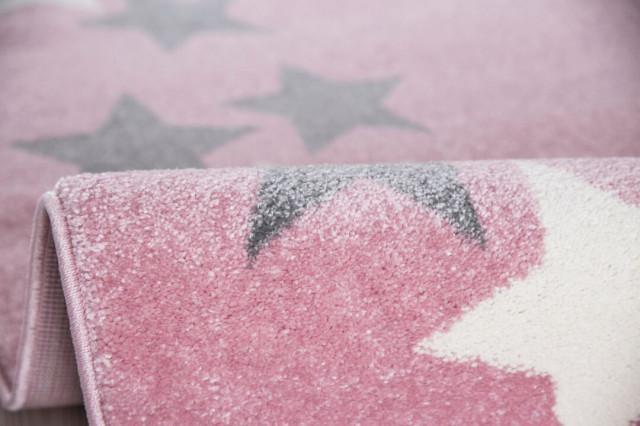 Dětský koberec BORDERSTAR růžovošedý