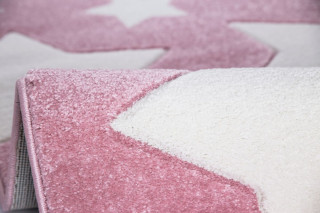 Dětský koberec SKY růžový