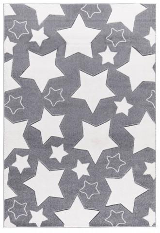 Dětský koberec SKY stříbrnošedý