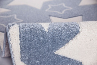 Dětský koberec SKY modrý