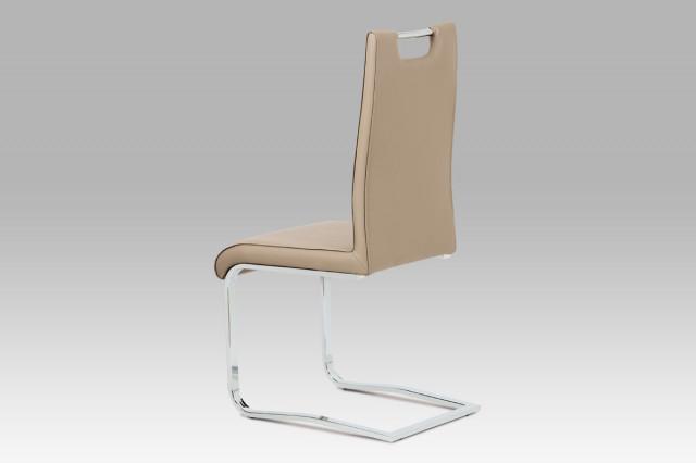 Jídelní židle DCH-563 CAP - koženka cappuccino