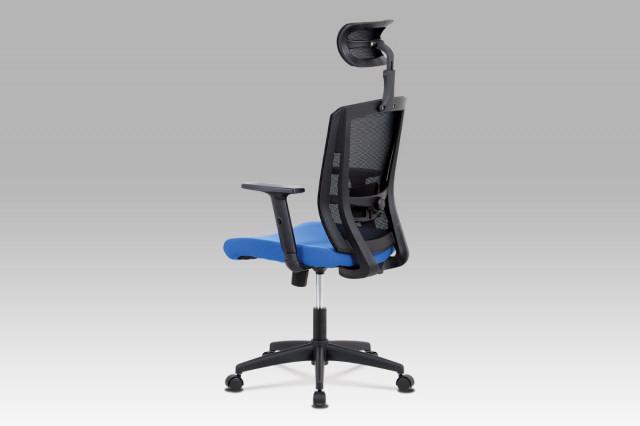 Kancelářská židle KA-B1076 BLUE - modrá