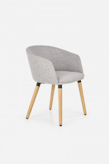Židle s područkami K266 - béžová