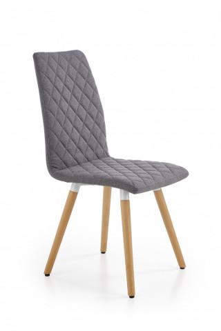 Jídelní židle K282 - šedá