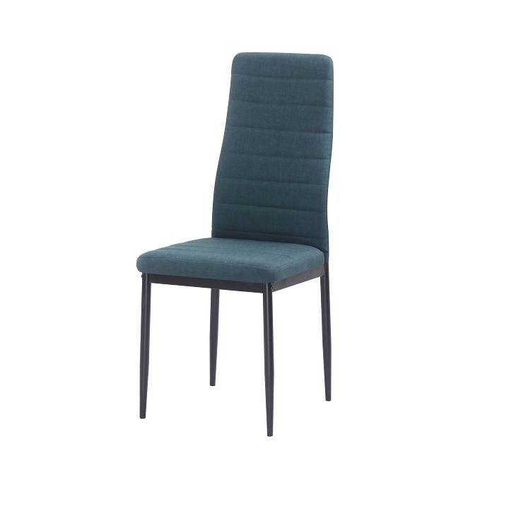 Tempo Kondela Židle COLETA NOVA - smaragdová látka / černý kov + kupón KONDELA10 na okamžitou slevu 3% (kupón uplatníte v košíku)