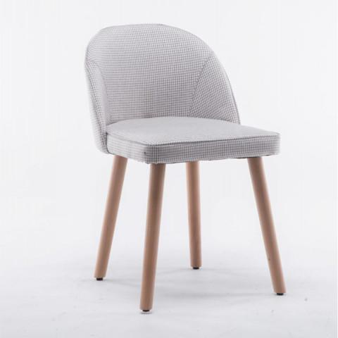 Židle LALIMA - béžový vzor
