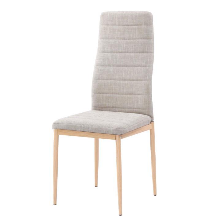 Tempo Kondela Židle COLETA NOVA - béžová látka / buk + kupón KONDELA10 na okamžitou slevu 3% (kupón uplatníte v košíku)
