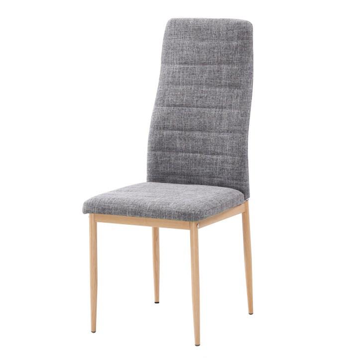 Tempo Kondela Židle COLETA NOVA - světle šedá látka / buk + kupón KONDELA10 na okamžitou slevu 3% (kupón uplatníte v košíku)