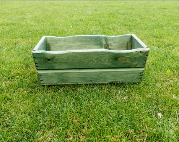 Zahradní TRUHLÍK 44cm - zelený