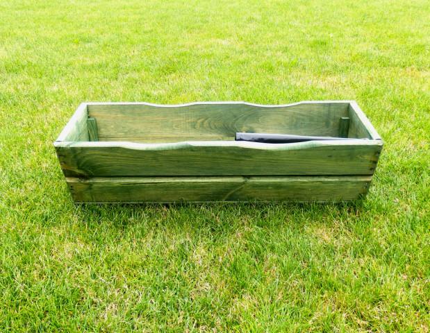 Zahradní TRUHLÍK 64cm - zelený
