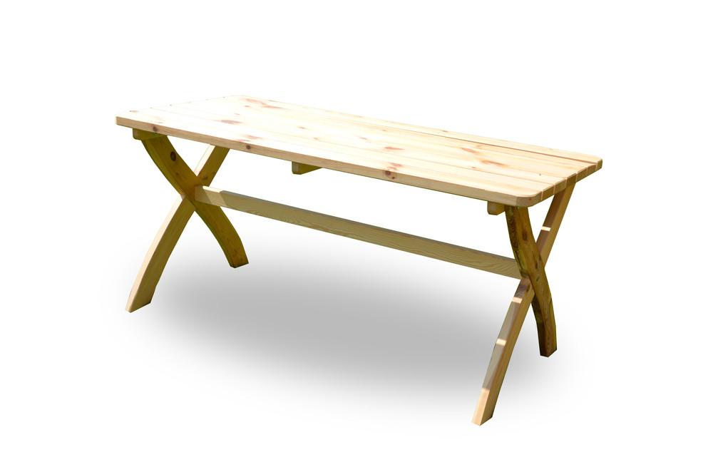 Rojaplast Stůl STRONG MASIV přírodní - 150 cm