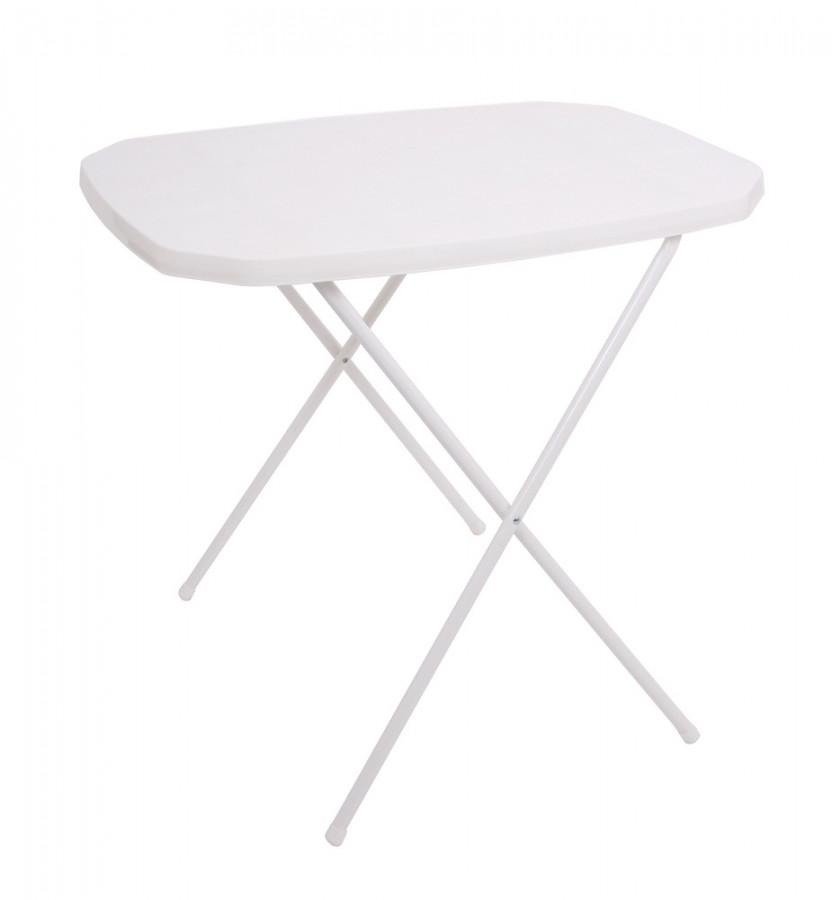 Rojaplast Stůl CAMPING 53x70 - bílý