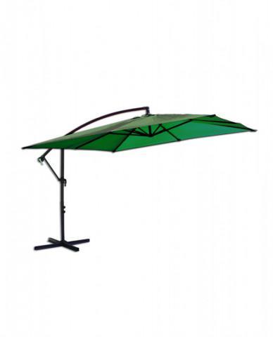 Slunečník kovový 8080 - 270cm - zelený