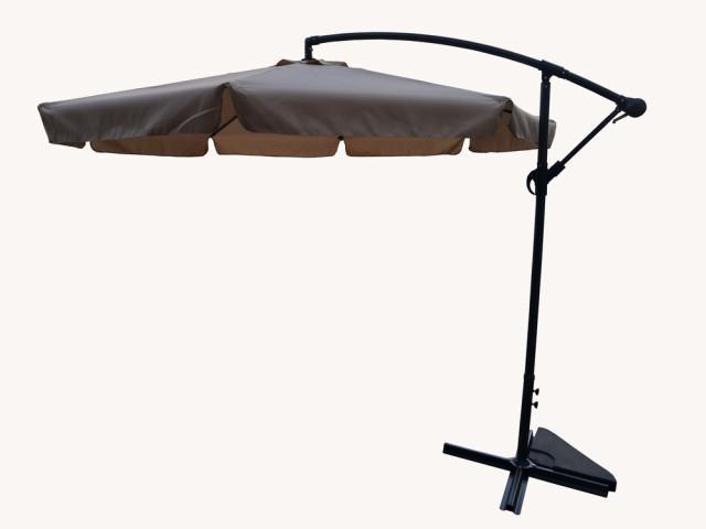 Slunečník EXCLUSIVE boční ø300 cm - béžový