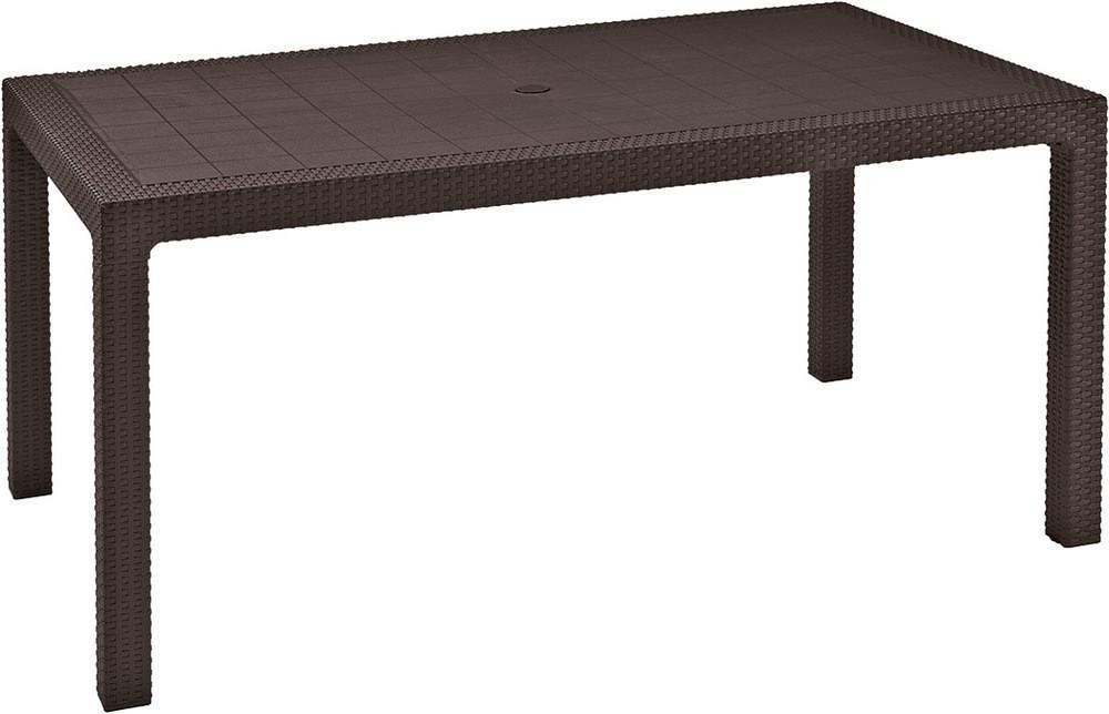 Rojaplast Stůl MELODY - hnědý