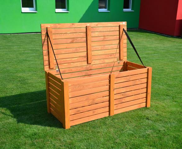BOX na podsedáky dřevěný