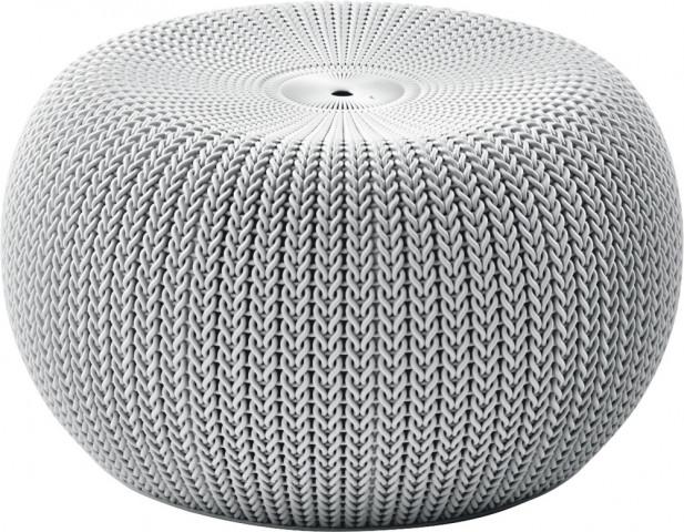 Taburet KNIT SINGLE SEAT (cozies) - šedý