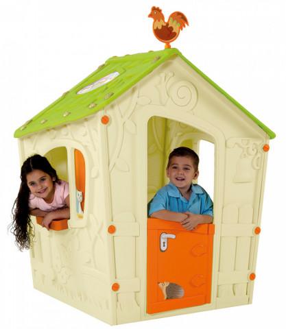 Domeček MAGIC PLAY HOUSE - béžový