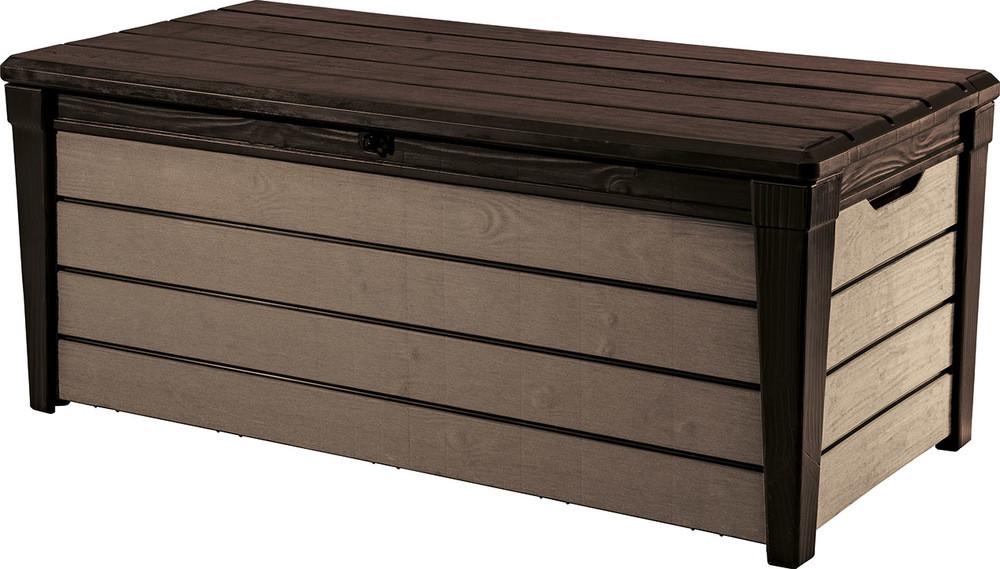 Rojaplast Box BRUSHWOOD - 455L - hnědý