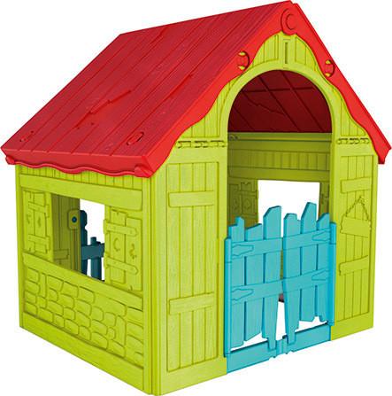 Dětský domeček FOLDABLE PLAYHOUSE - zelený