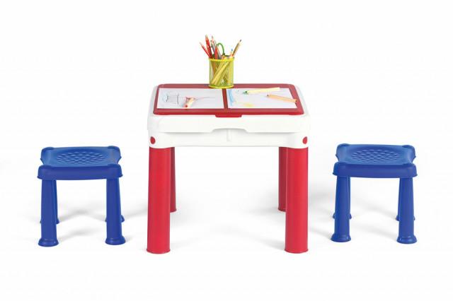Dětský stoleček na hraní CONSTRUCTABLE