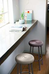Barová stolička COZY BAR stool - fialová