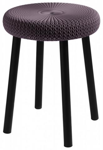 Barová stolička COZY stool - fialová