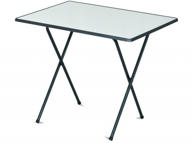 Kempingový stůl 60x80 SEVELIT - antracit/bílá