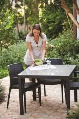 Zahradní stůl SUMATRA - antracit