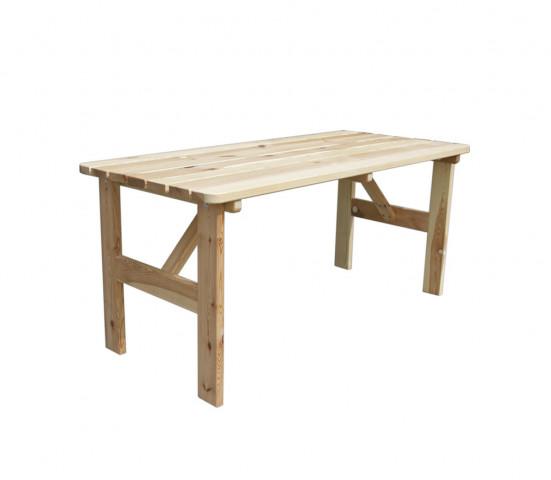 Zahradní stůl VIKING ŠEDÝ - 150 cm