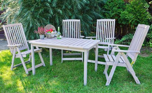 Zahradní stůl HOLIDAY - šedý