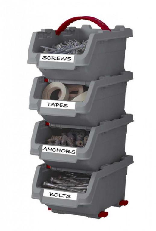 Organizéry KETER CLICK BINS set - M - 4