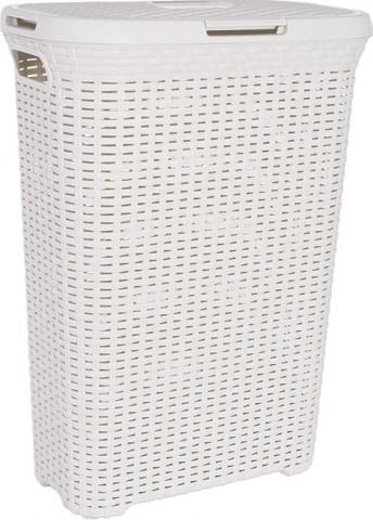 Koš na prádlo STYLE RATTAN 40L - krémový