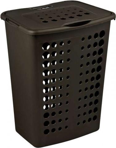 Koš na prádlo VICTORIA 40L - hnědý