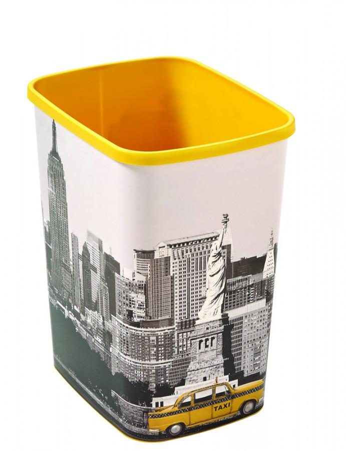 Curver Odpadkový koš FLIPBIN 25L bez víka - NEW YORK